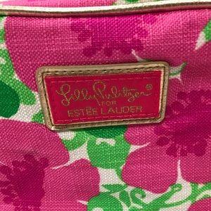 Estee Lauder Lilly Pulitzer Makeup Bag